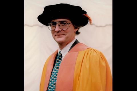 Honorary doctorate from De Montfort university